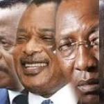 Les chefs d'Etat de la CEMAC
