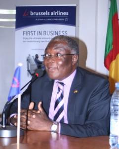 Dr. André Kwam, président du CAA