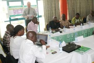 Ambiance très studieuse au cours de la rencontre de Douala