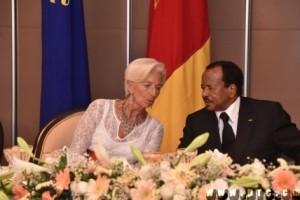 Lagarde et Biya
