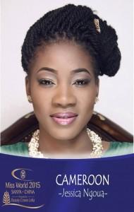 La plus belle fille du Cameroun