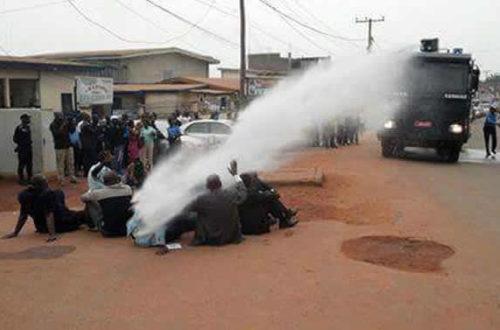 Article : Yaoundé : Je dis hein…qui vous a demandé de doucher l'opposition ?