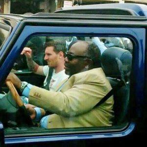 Le chauffeur de Lionel Messi