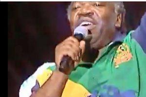Je rappe pour la paix au Gabon