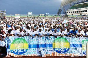 Le peuple gabonais derrière son champion