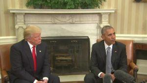 """""""Les deux derniers présidents des USA"""""""